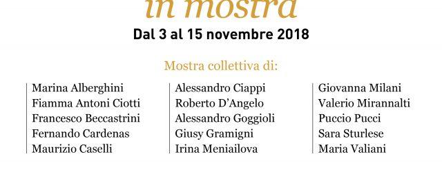 Dal 3 al 15 novembre 2018 la Galleria GADARTE in via S. Egisio, 27 r ha visto nelle sue stanze la mostra collettiva dei seguenti soci dell'Associazione Artisti Fiesolani: Marina […]